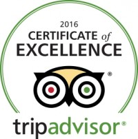 "Theodosi Restaurant, selected for 2016 TripAdvisor ""Certificate of Excellence""!"