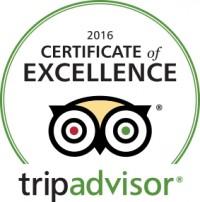 "Theodosi Restaurant, selected for 2016 TripAdvisor ""Certificate of Excellence""!"
