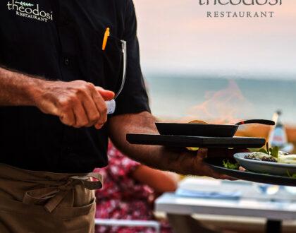 (English) Theodosi Restaurant: More than a sunset!